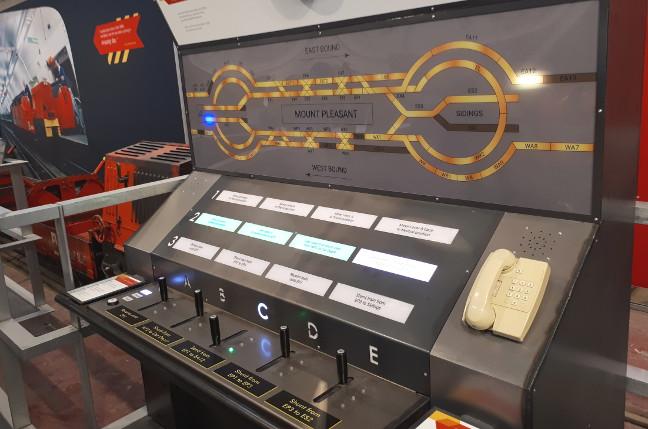 The Mail Rail signalling simulator
