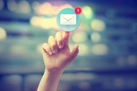 Email. Pic: Shutterstock
