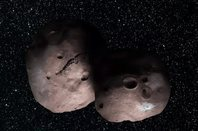 NASA artist's concept of Kuiper Belt object 2014 MU69. Credits: NASA/JHUAPL/SwRI/Alex Parker