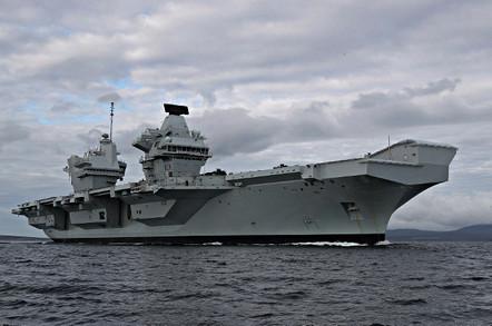HMS Queen Elizabeth, pictured in Scapa Flow in August 2017. Crown copyright