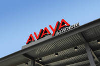 Avaya logo atop Avaya stadium