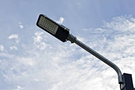 A generic LED streetlight. Pic: Shutterstock