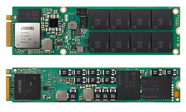 Samsung showcases advanced V-NAND memory solution