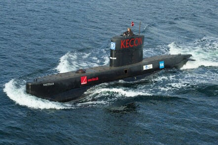 The submarine UC3 Nautilus. Pic: Frumperino, Wikipedia