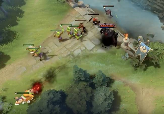 openai bot bursts into the ring humiliates top dota 2 pro gamer