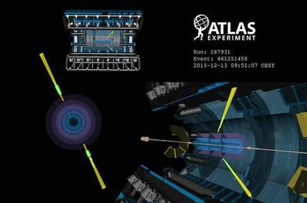 CERN visualisation of photon interaction