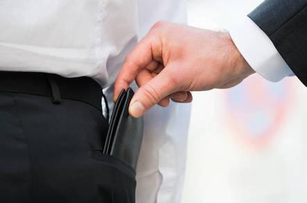 Shutterstock pickpocket