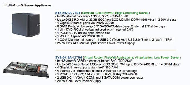 Sample_Supermicro_C3000_products