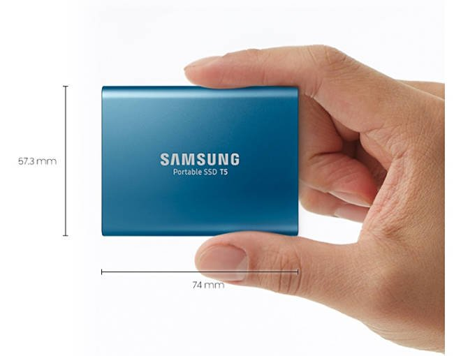 Samsung launches Portable SSD T5 in capacities up to 2TB