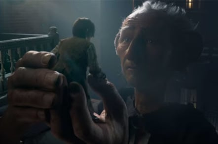 BFG and sophie - from the roald dahl novel The Big Friendly Giant
