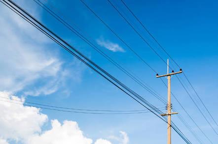 A utility pole