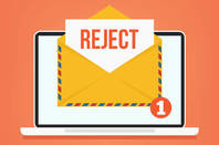 Email rejected