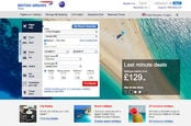 THAT sand penis on BA.com. Just to the left of the L in 'Last minute deals'