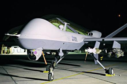 A Royal Air Force MQ-9 Reaper drone. Crown copyright