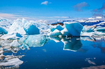 icebergs iceland