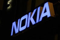 Nokia sign from Shutterstock
