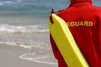 Lifeguard on the beach