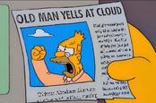 Yell at cloud