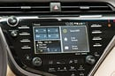 Toyota Entune on the dashboard of its 2018 Camry car. Pic: Toyota