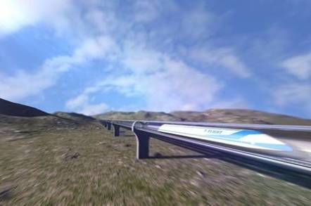 china hyperloop