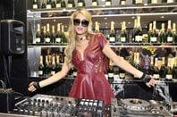 Paris Hilton DJs .  Editorial credit: ANDREA DELBO / Shutterstock.com