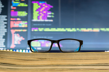 Specs and code photo via Shutterstock