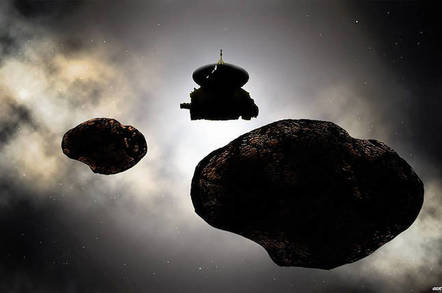 NASA New Horizons artist's impression