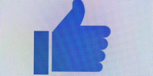 Pixellated Facebook thumb