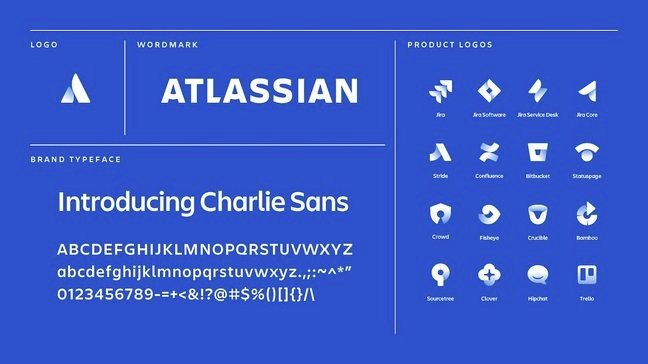 Atlassian Logo and font
