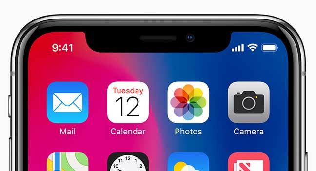 Apple iPhone X detail