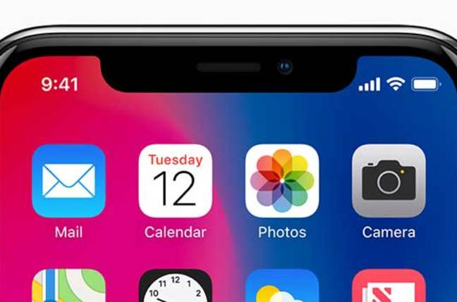 Apple iPhone X detail