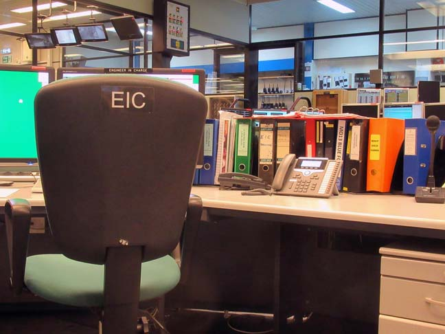 EIC seat photo by SA Mathieson