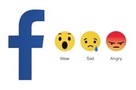 Facebook Wow Sad Angry