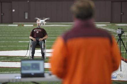 New Virginia Tech drone test
