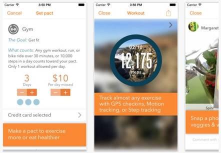 Pact app screenshot