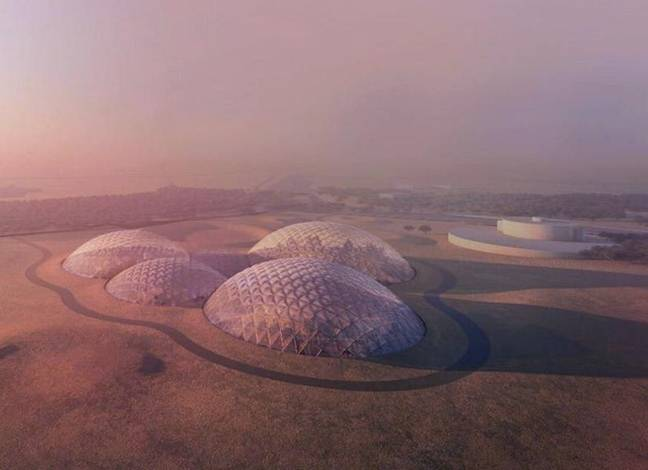 Dubai announces launch of massive Mars Science City project