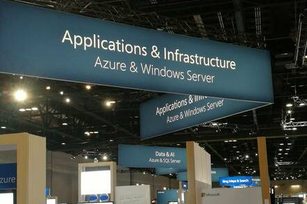 Microsoft Azure on show at Ignite in Orlando
