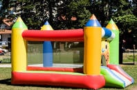 Bouncy castle. pic: Shutterstock