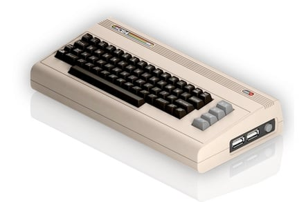 Commodore 64 makes a half-sized comeback • The Register