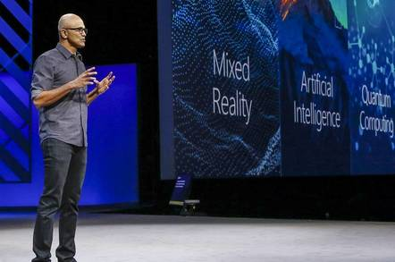 Satya Nadella's three bets: AI, Mixed Reality, and Quantum Computing
