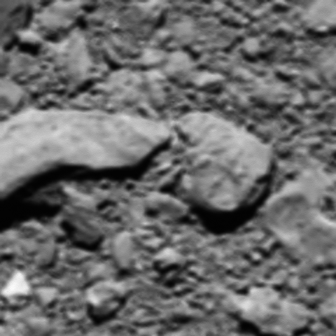 The last image from comet probe rosetta