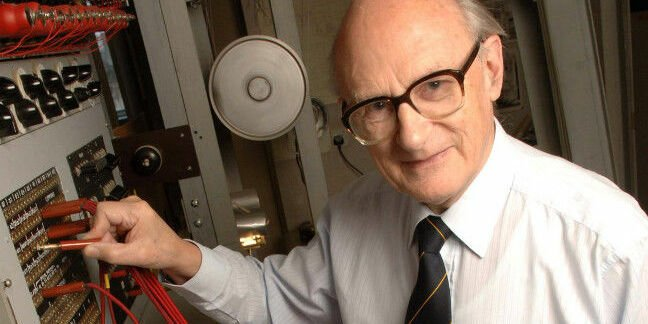 Tony Sale, one of the founders of the National Museum of Computing. Pic: TNMOC