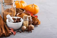 Pumpkin spice ingredients