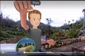 Facebook founder Mark Zuckerberg in VR