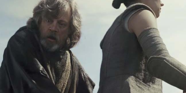 Still from Star Wars: The last Jedi
