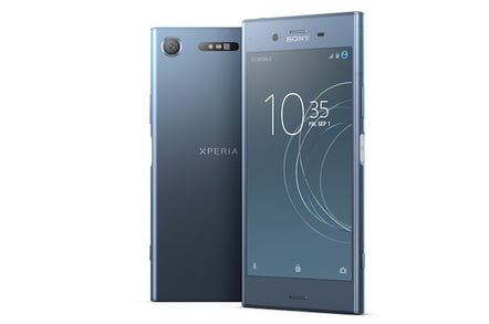 Xperia XZ1: Sony spies with its MotionEye something beginning