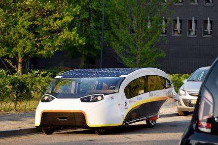 Eindhoven's winning solar Cruiser