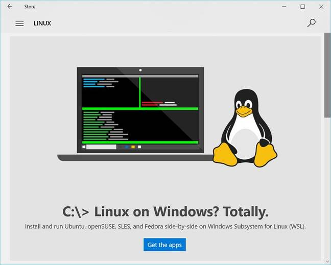 Linux on Windows is fully released