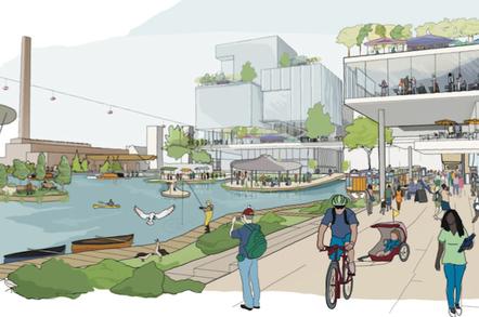 Lucky Canada  Google chooses Toronto as site of posthuman urban lab