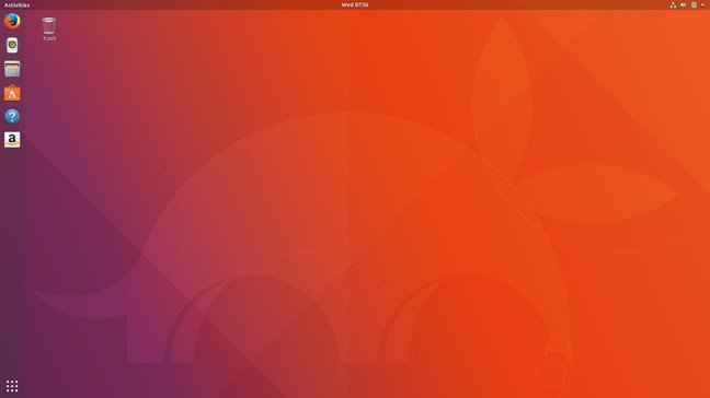 The new GNOME-based Ubuntu desktop